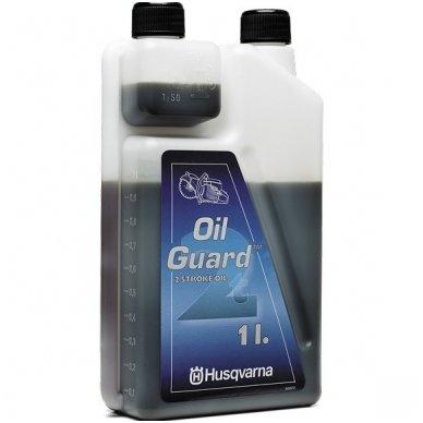 Dvitaktė alyva, Oil guard