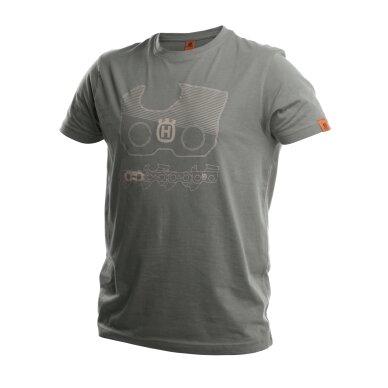 """""""Xplorer"""" marškinėliai trumposis rankovėmis, su """"X-Cut"""" grandinės ženklu, tinkantys abiems lytims"""